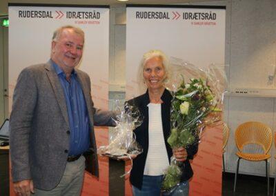 Glade prismodtagere og finalister på Rudersdal Idrætsråds Repræsentantskabsmøde